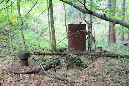 Alte Wasseranlagen im Hohwald