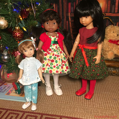 Dolltown Little Girls Christmas 2019