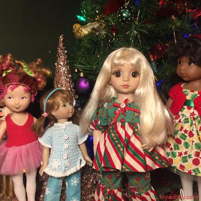 Dolltown Little Girls Christmas 2019