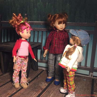 Girls on the Dolltown Bridge