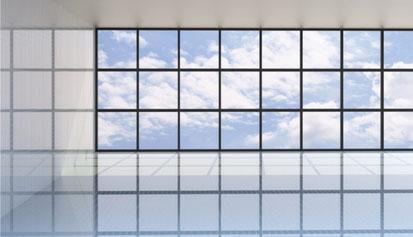 Fensterreinigung und Fassadenreinigung. Ein Service der GBU Service GmbH