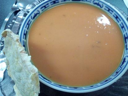 Velouté de patate douce aux épices