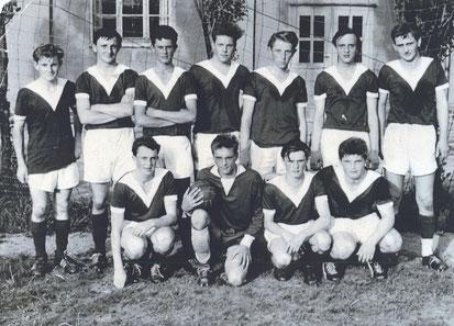 Bild: Teichler Wünschendorf Erzgebirge Fußballmannschaft