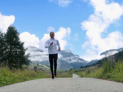 Julia Mayer livigno Höhentrainingslager laufen wien Dsg Italien high altitude