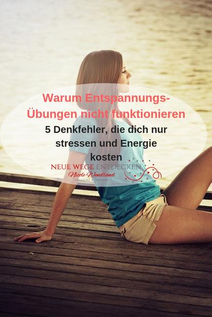 5 Denkfehler, die dich Energie und Leichtigkeit kosten.