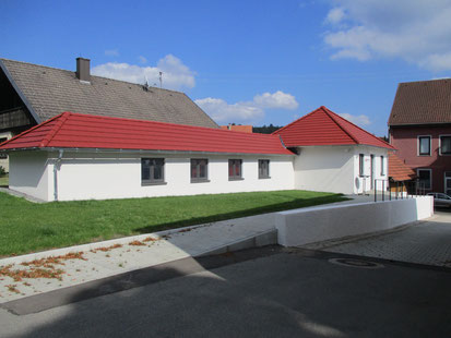 Kegelbahngebäude 2019 nach Fertigstellung