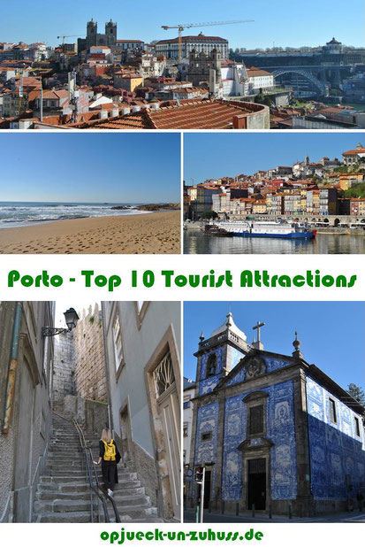 Porto Top 10 Tourist Attractions / Things to see and do in Porto