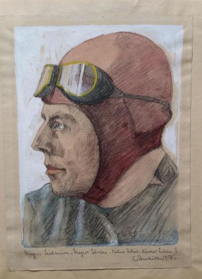 Theodor Steinkühler: Flieger, Posen/Breslau 1917