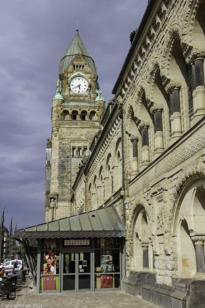 Bild: Der Bahnhof von Metz