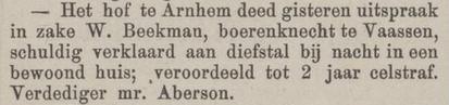 Provinciale Overijsselsche en Zwolsche courant 07-05-1881