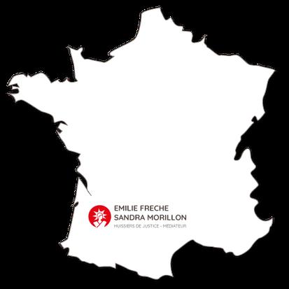 SCP Emile Freche Sandra Morillon - huissier de justice - médiateur de justice - Lot et Garonne