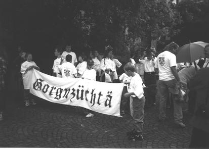Kinderfestumzug am Kronacher Freischießen
