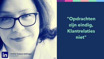 Personal branding Simona Hollinger profiel storytelling