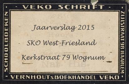 Voor SKO West-Friesland maken we sinds 2013 de jaarverslagen.