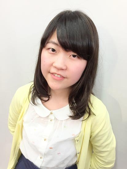 横浜の無責任美容師☆奥条勇気☆ 大学生の春!髪型かえて気分はすっかり大人の女性(^^♪
