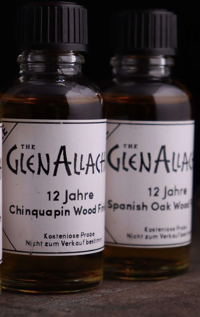 GlenAllachie 12 Years French Wood Chinquapin Wood, Spanish Oak