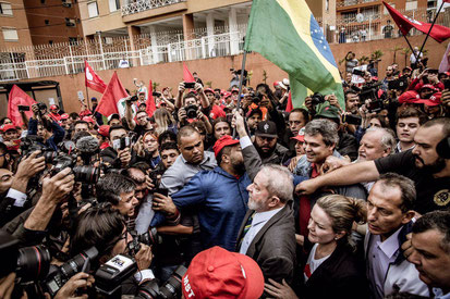 "PT-regeringens første præsident Luiz ""Lula"" Inácio da Silva"