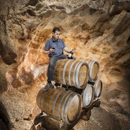 Vinolithic Raphaël Pommier Grotte de Saint Marcel d'Ardeche