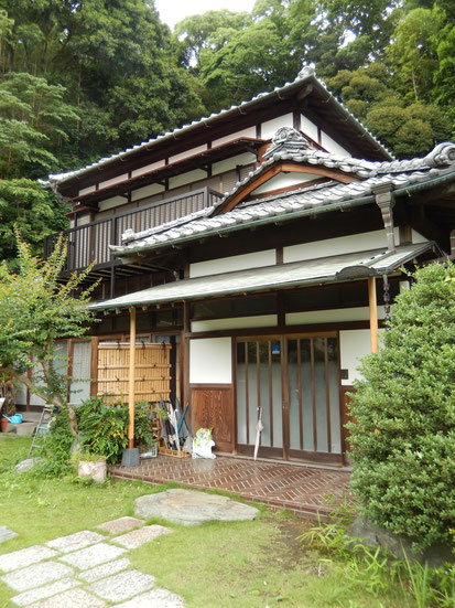 田舎造りの家
