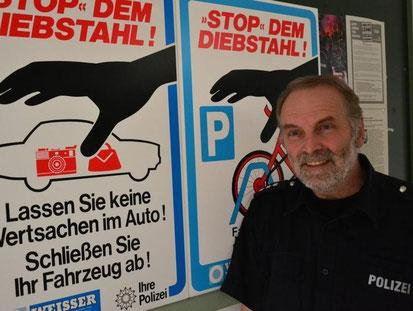 PHK S. Schoop / Quelle: Dithmarscher Landeszeitung