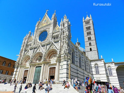 シエナの大聖堂 ドーモ  /  カテドラーレ