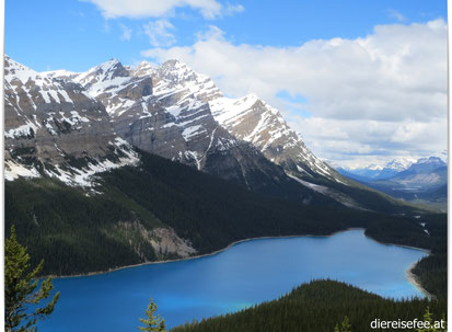Moraine Lake im Banff Nationalpark - Alberta