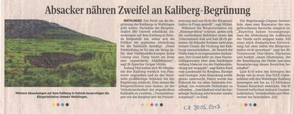 Quelle: Cellesche Zeitung, 30.05.2017