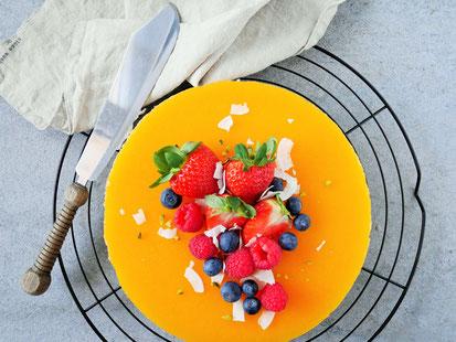 Pfirsich-Joghurt-Cake