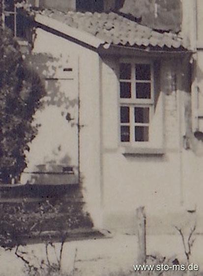 Wienburg 1910 - Toilettenerker ohne Wasserspülung