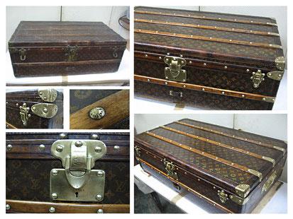 Restauración baúl de viaje Louis Vuitton.