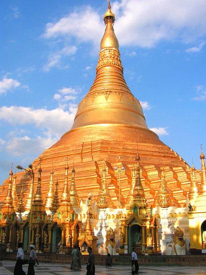 Shwedagon - Pagode in Yangon