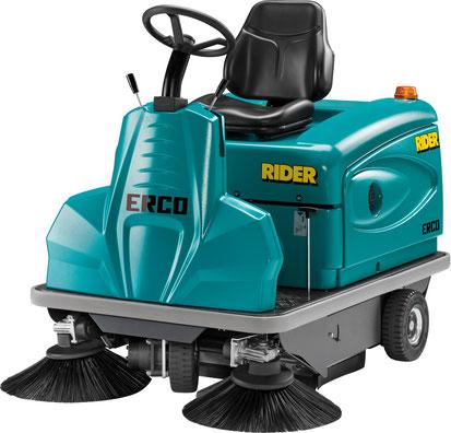 ERCO Rider 1201 HS Benzin Aufsitzkehrmaschine