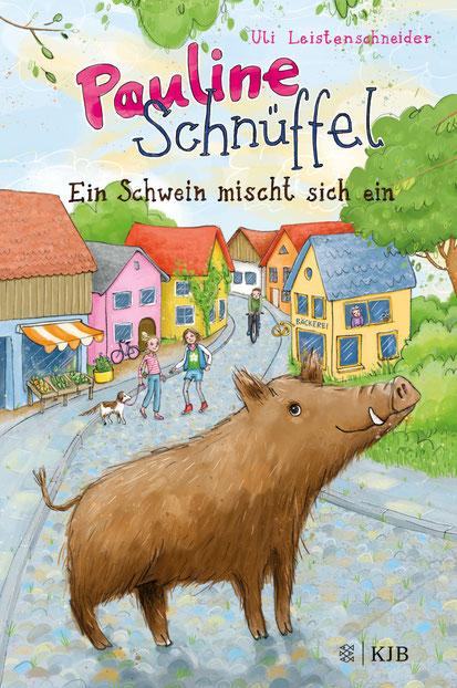 Pauline Schnüffel, Wildschwein, Polizeischwein, Detektiv, Humor