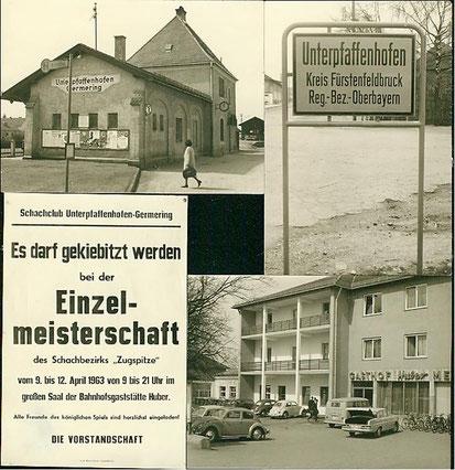 Bezirksmeisterschaft Zugspitze 1963 in Unterpfaffenhofen (2)
