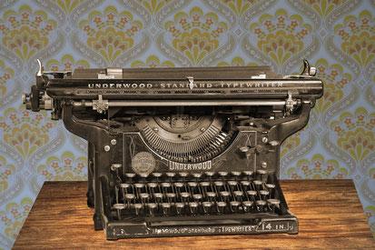 Die Schreibmaschine aus der guten alten Zeit