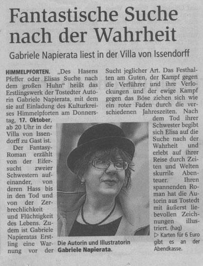 Stader Tageblatt v. 10.10.2013