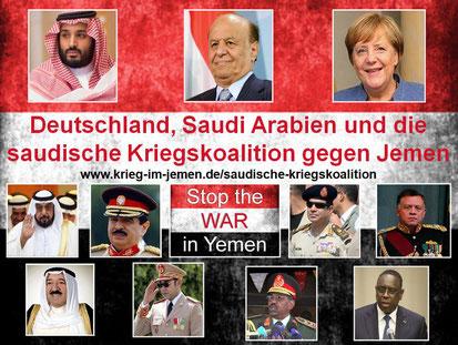 Die saudische Kriegskoalition
