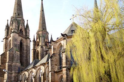 Elisabethkirche in Marburg  | Bildquelle: Pixabay