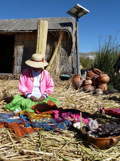 Bootsausflug zu den Uros Inseln im Titicacasee