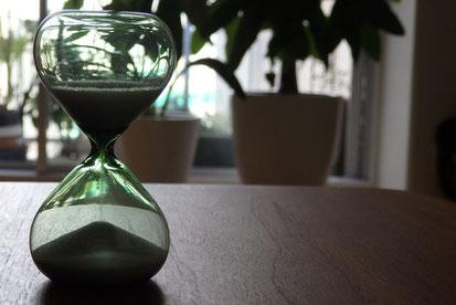 想いと現実と砂時計