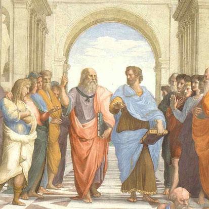 School of Athens. By Raphael Sanzio