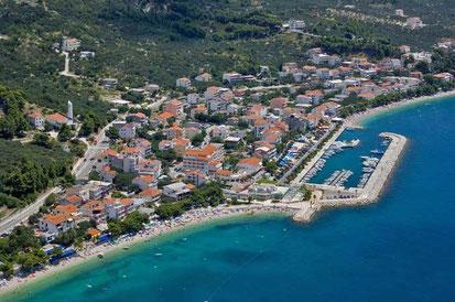 Апартаменты в Тучепи. Хорватия.