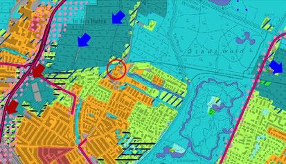 Das »Findorffer Tor« entsteht in einer stadtklimatisch sensiblen Zone.