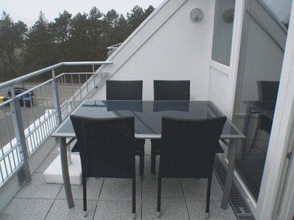 Ferienwohnung Cuxhaven 3.28 Balkon