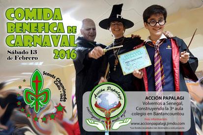 comida de Carnaval 2013 - Grupo Scout Chaminade