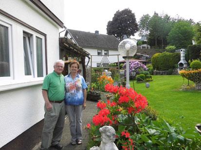 Ihre Gastgeber der Pension in Bad Berleburg: Gerd und Marlis Langenbach