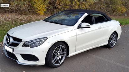 Mercedes E200 Cabriolet- Аренда авто в Черногории. Прокат машин аэропорт Тиват.