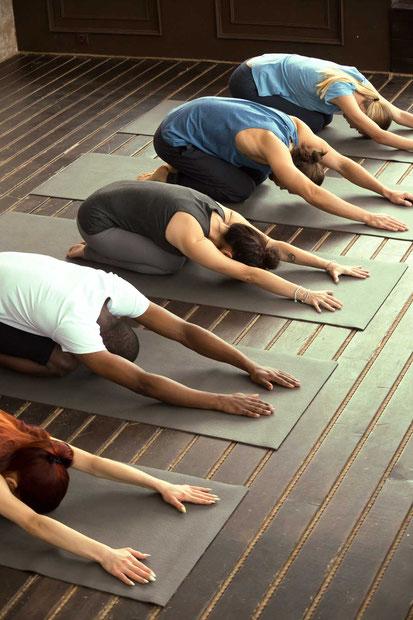 Yoga avec le professeur christine videgrain - Saint-Pierre-des-Corps - Association Harmonie et Bien-être - Centre de sport et santé