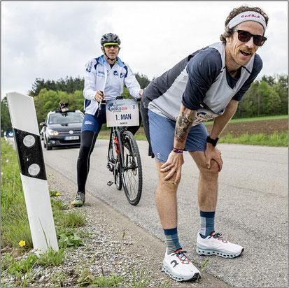 Laufkumpel Matthias über seine erste Langdistanz bei der Challenge Roth...