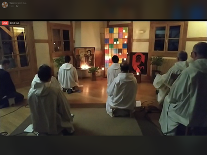 Online Taize-Gebet